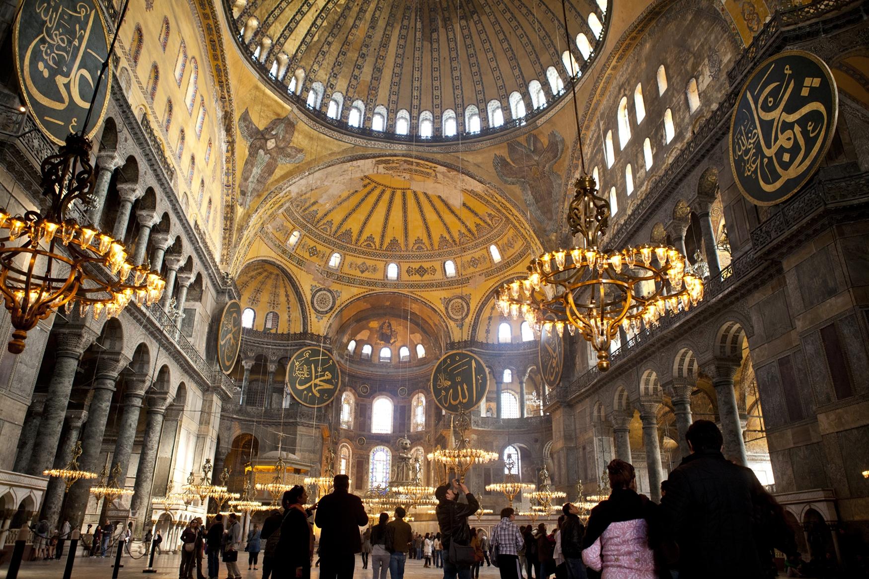 Как христиане и мусульмане делили собор Святой Софии — Блог OneTwoTrip