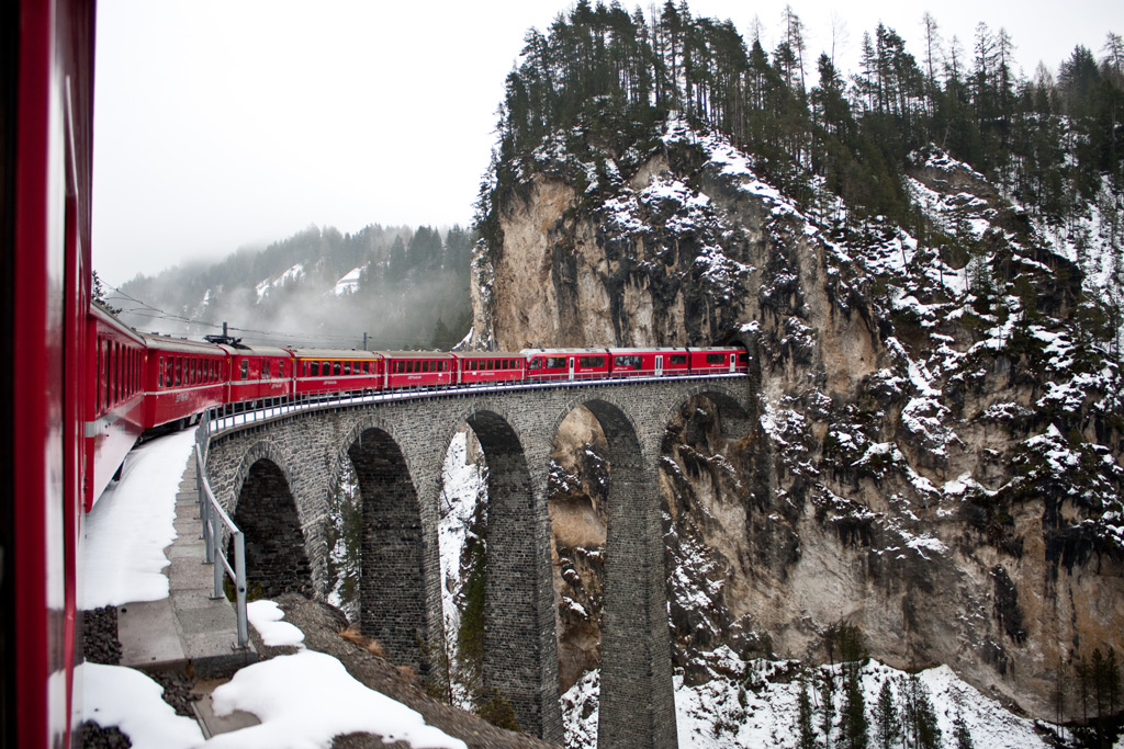 Фото: Glacier Express