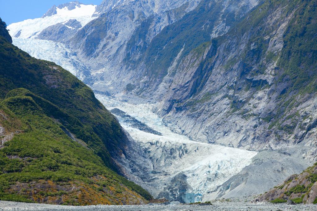 Фото: Ледник Франца-Иосифа