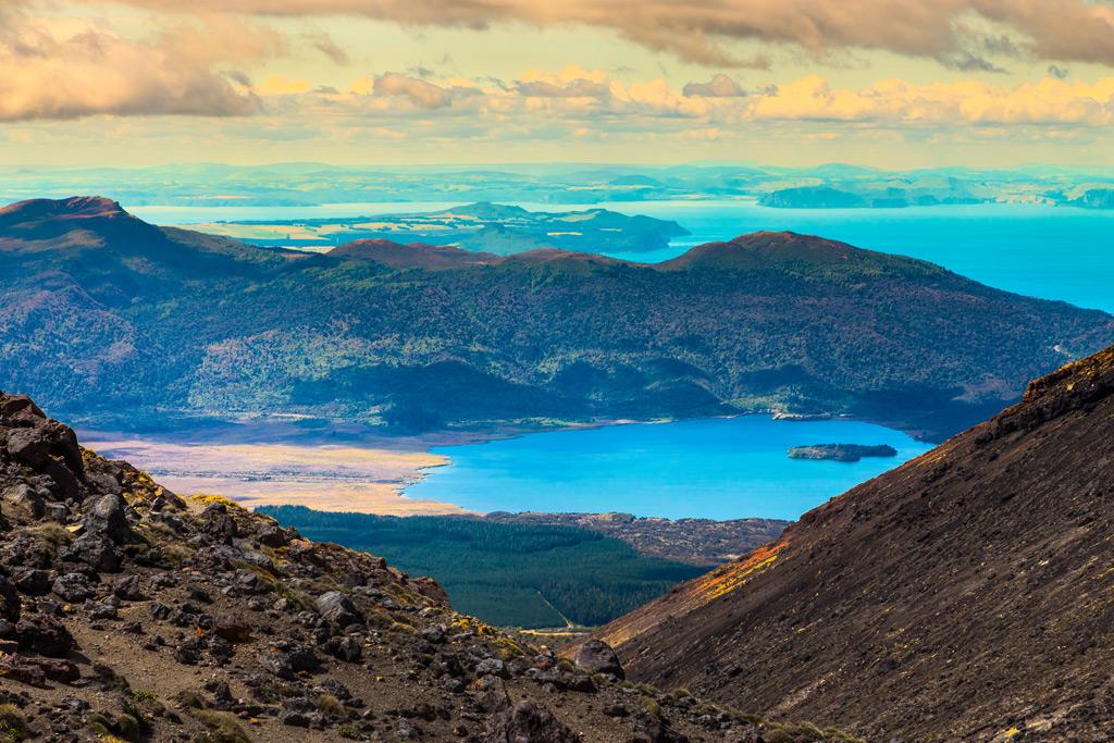 Фото: Озеро Таупо
