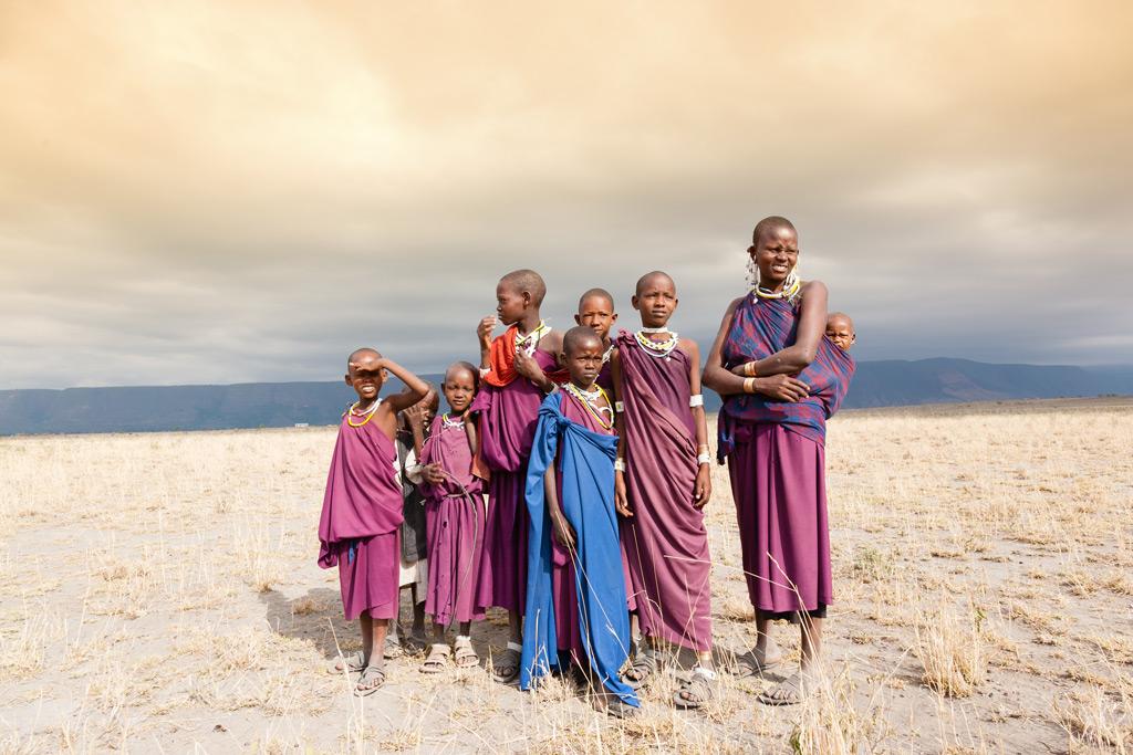 Фото: Жители Танзании
