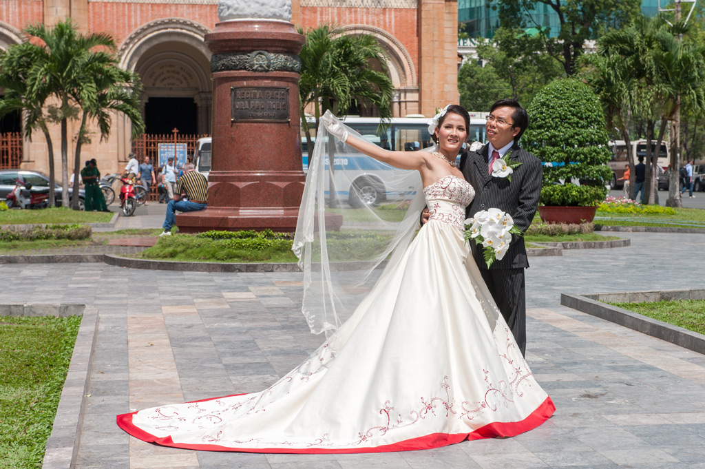 Фото: Вьетнамская свадьба