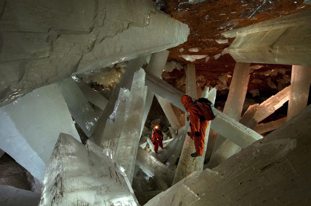 Фото: Пещера кристаллов, Мексика