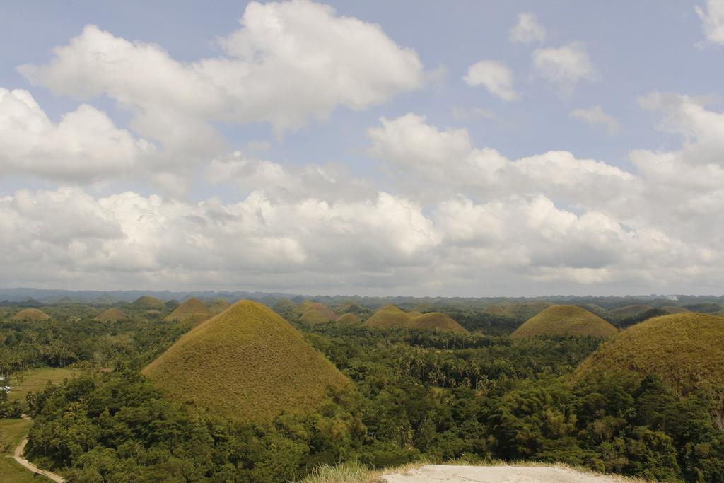 Фото: Шоколадные холмы, Филиппины