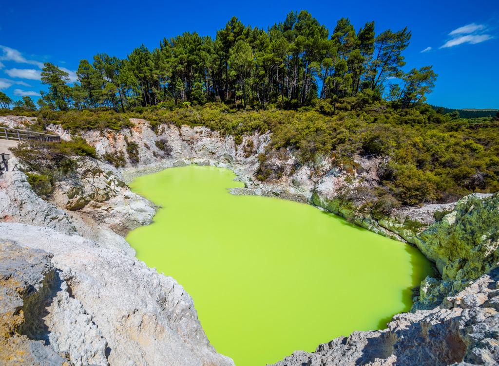 Фото: Уаи-О-Тапу, Новая Зеландия