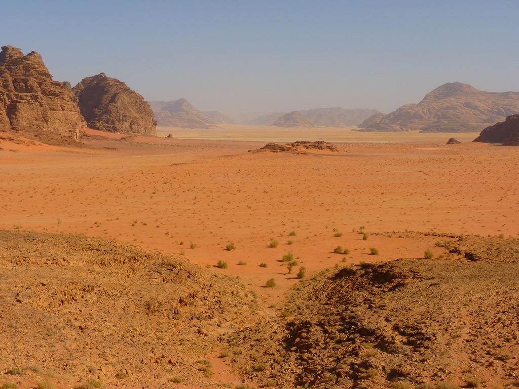 Фото: Пустыня Вади-Рам, Иордания