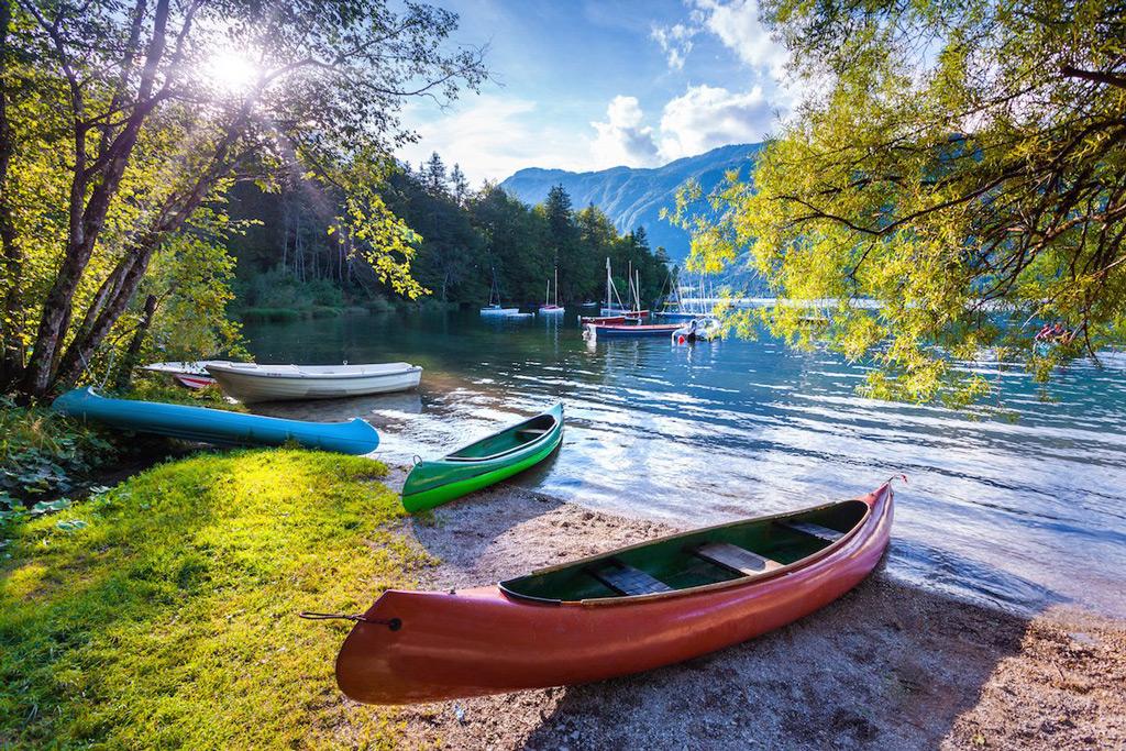 Фото: Озеро Блед в Словении