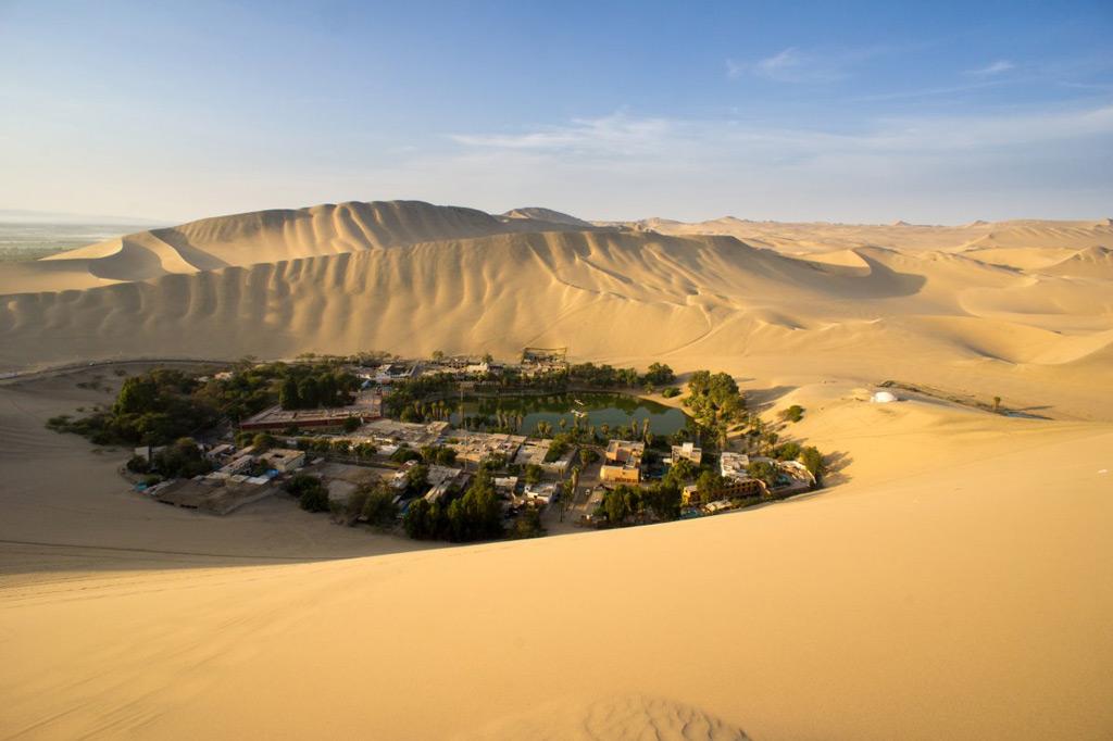 Фото: Песчаные дюны