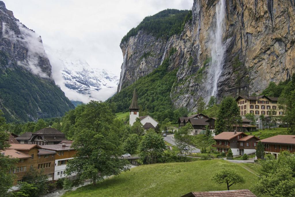 Фото: Водопад Штауббах