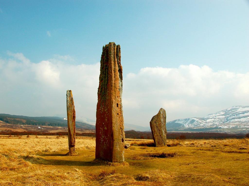 Фото: Каменные круги Махри Мур