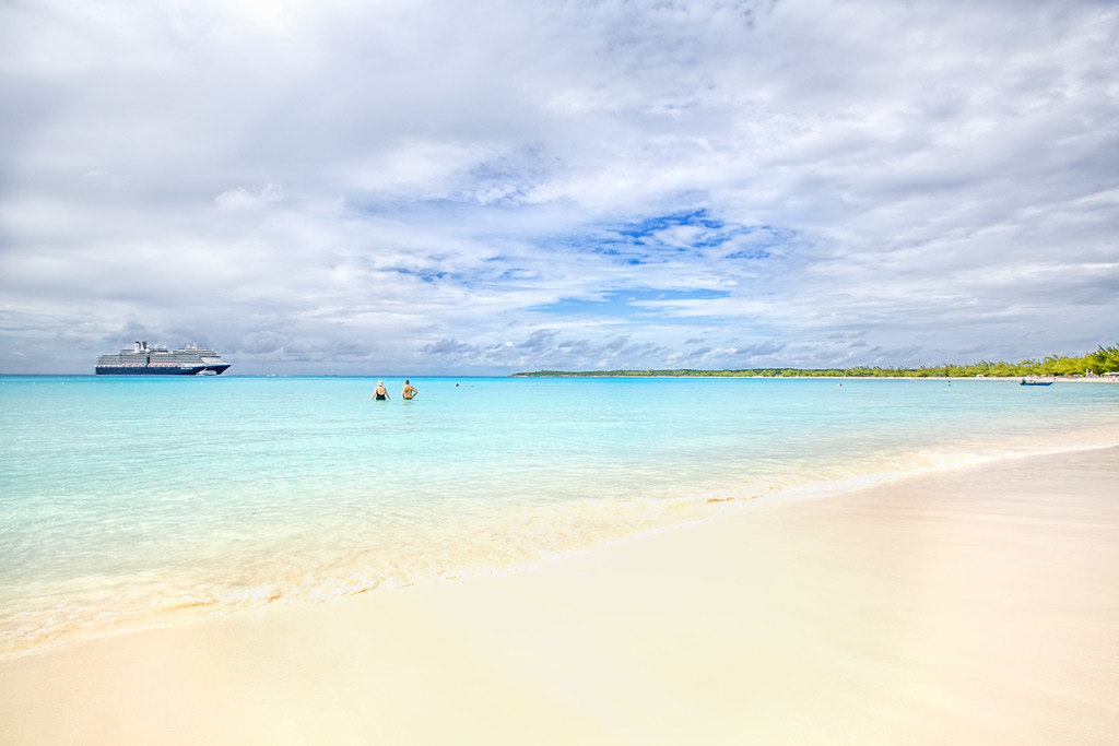 Фото: Коралловый остров Халф-Мун-Кей