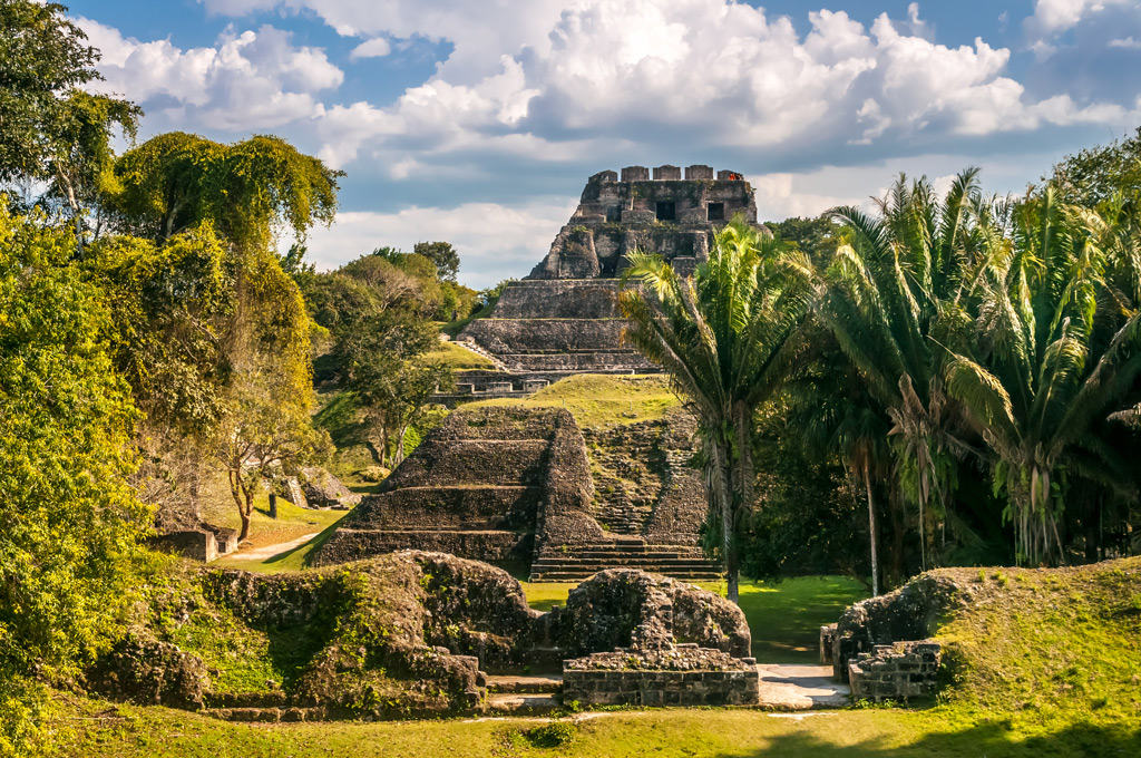 Фото: Руины майя