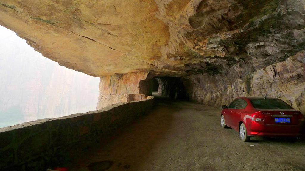 Самые опасные дороги мира Туннель Джоулинг (Китай)