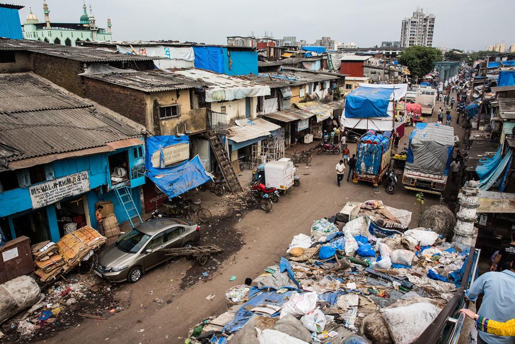 Индийские трущобы фото