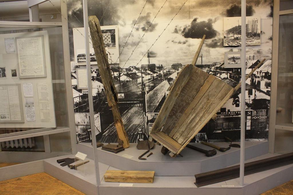 инсталляция исторического события фото был построен загородный