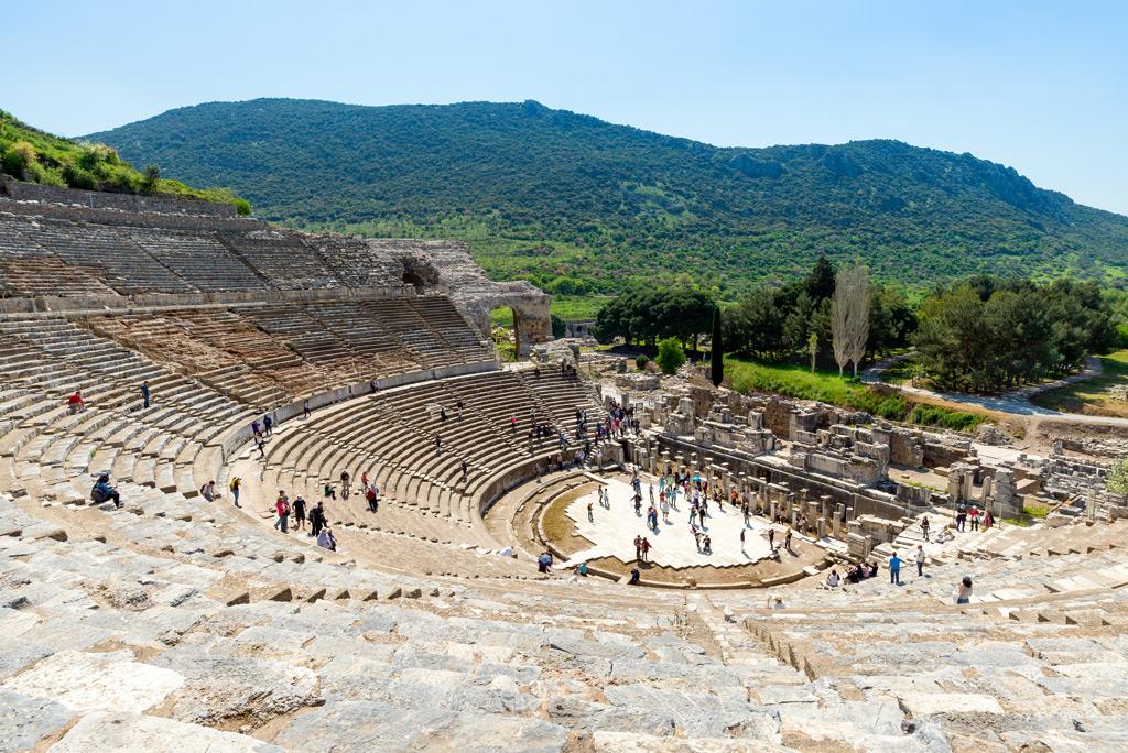Фото: Знаменитый эфесский амфитеатр