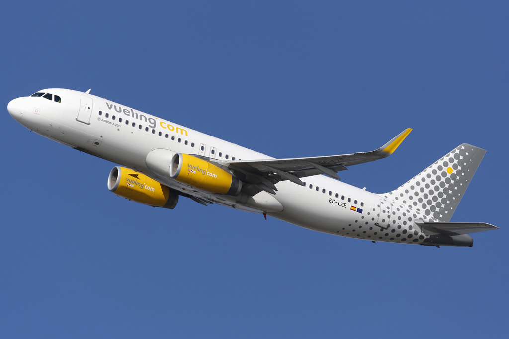 Фото: Vueling Airbus A320