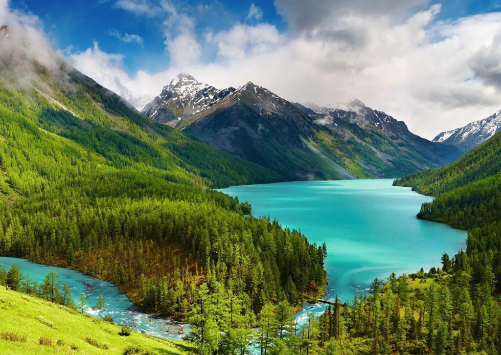 Картинки на рабочий стол горы и озера