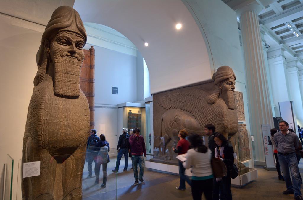 Фото: Посетители в Британском музее