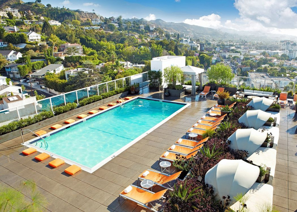Фото: Andaz West Hollywood, США
