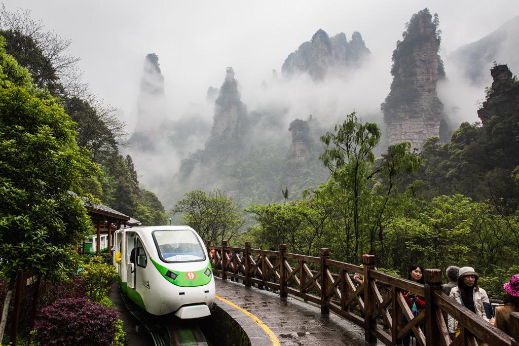 Фото: Национальный парк Чжанцзяцзе