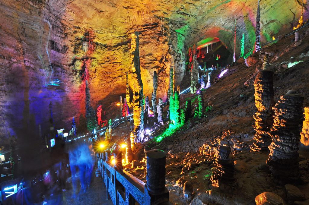 Фото: Желтый Дракон пещера