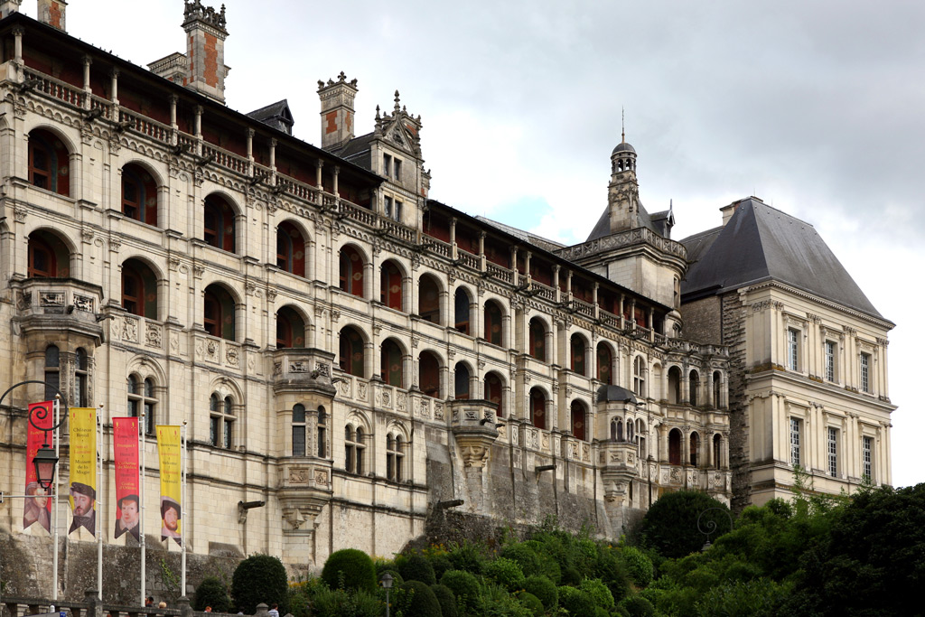 Фото: Франция, замок Блуа