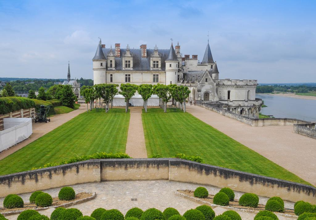 Фото: Замок Амбуаз, Франция