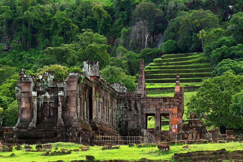 Фото:Руины в Чампаске в Лаосе