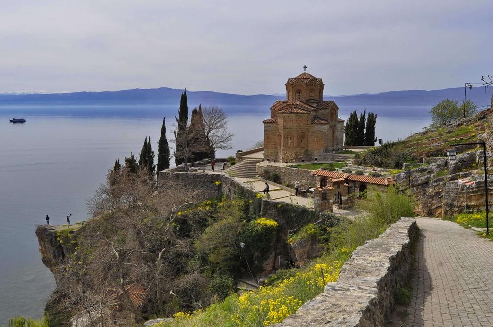 Фото: Охридское озеро