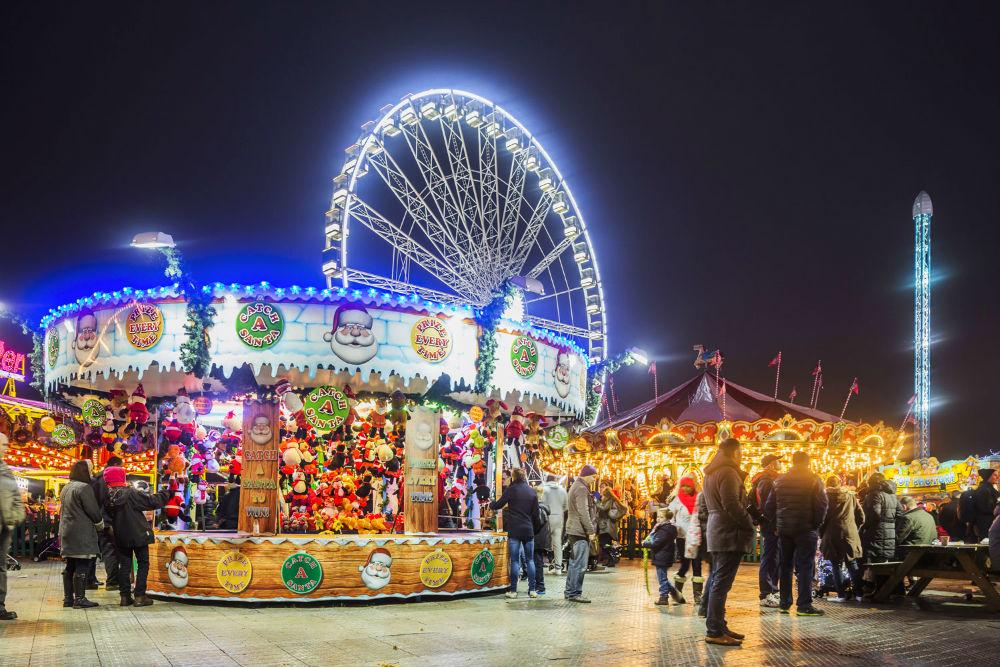 Фото: Рождественская ярмарка в Лондоне