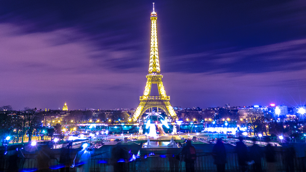 an overview of the eiffel tower of france