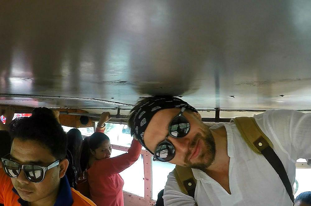 Фото: В автобусе