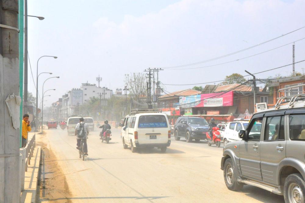 Фото: Пыльная дорога