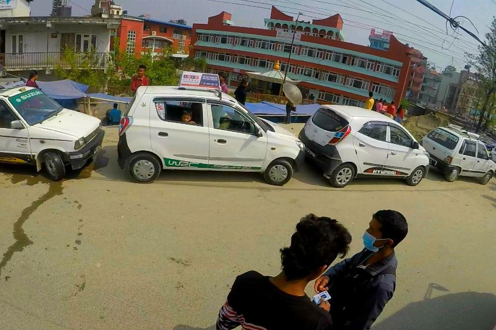 Фото: Такси в Катманду