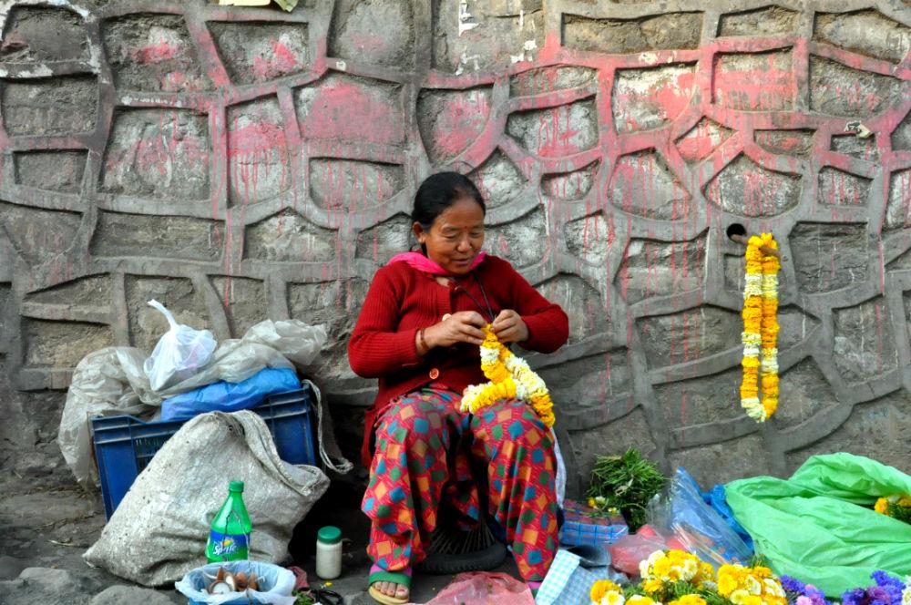 Фото: Непальская женщина