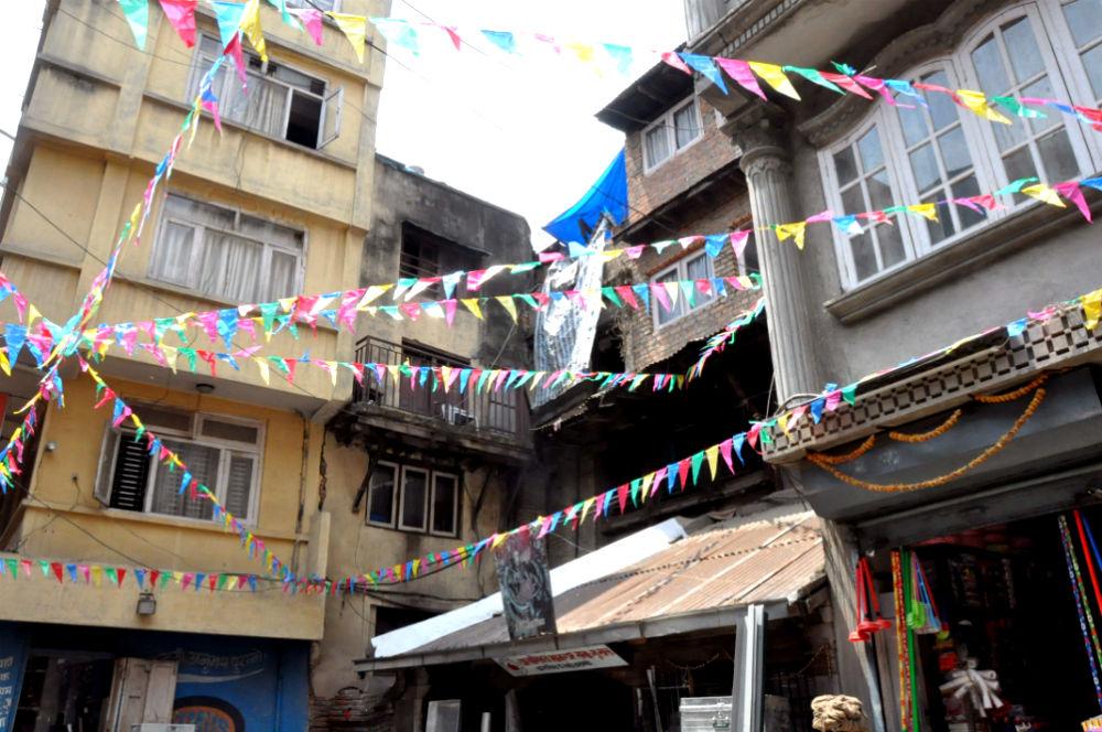 Фото: Дворик в Катманду