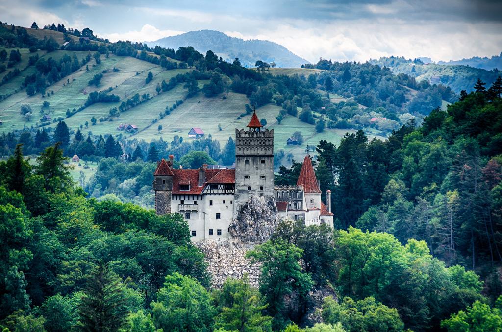 Фото: Крепость Бран