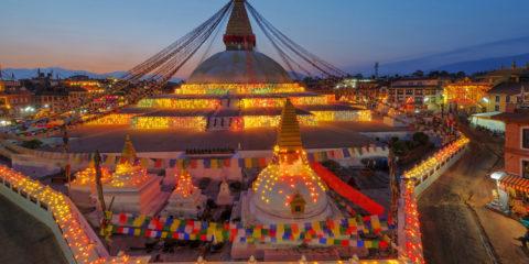twilight-boudhanath-stupa