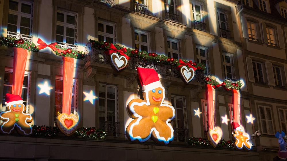 Фото: Декорации на улице