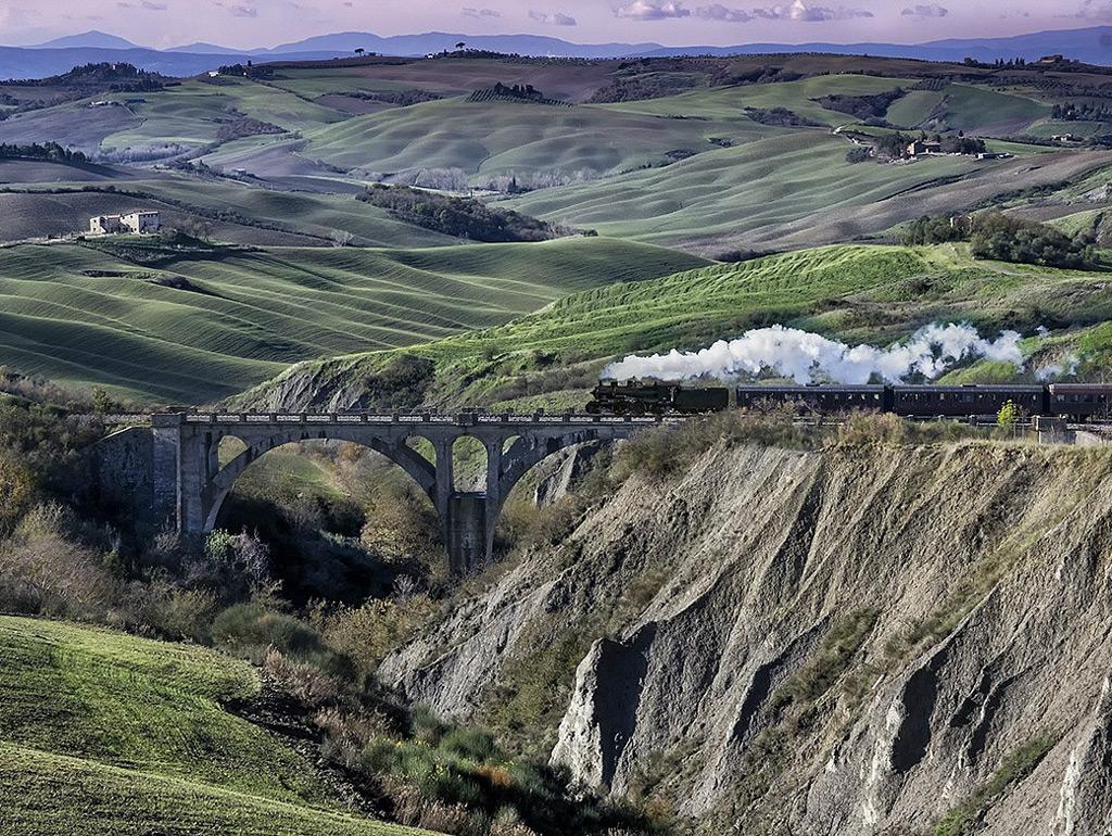 Фото: По Италии на поезде