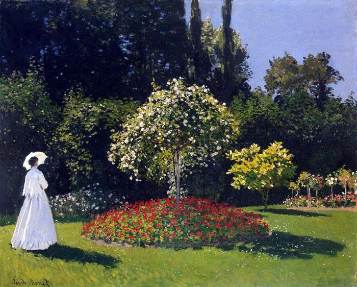 Фото: «Дама в саду»