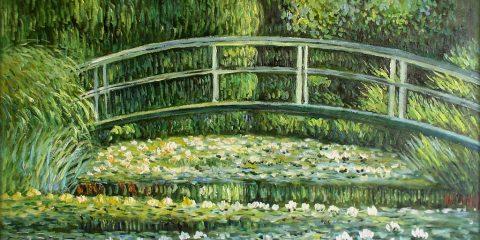 Фото: «Пруд с водяными лилиями»