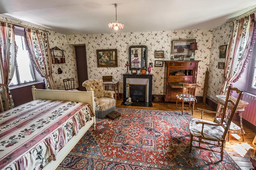 Фото: Одна из комнат в особняке Клода Моне