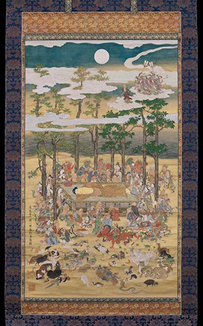 Фото: Картина «Смерть Будды»