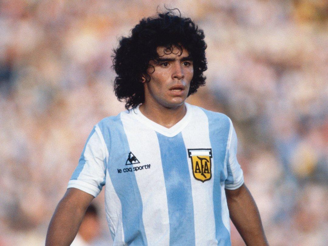 Diego armando maradona zu seinen besten zeiten