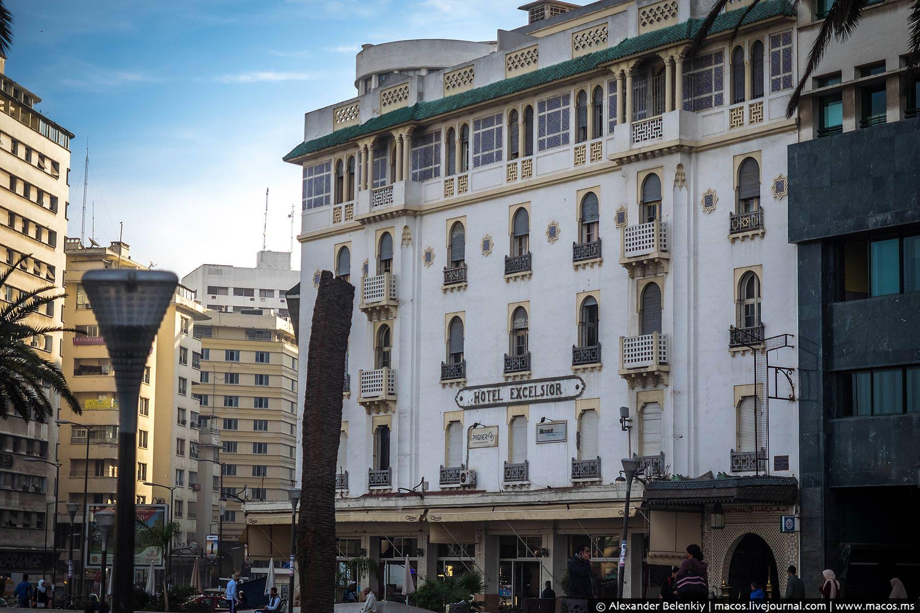 Фото: Архитектура Касабланки