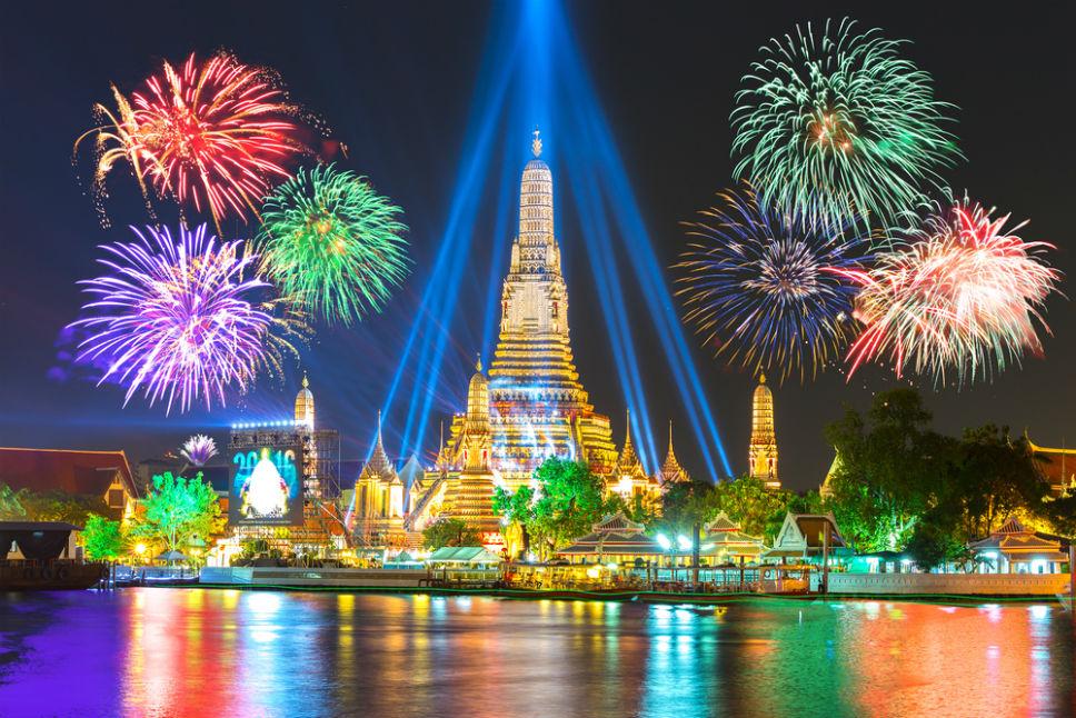 Фото: Фейерверк в Бангкоке