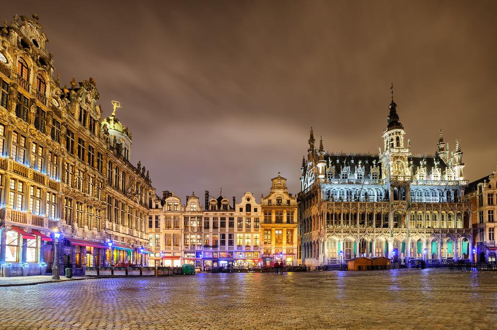 Фото: Зимние распродажи в Брюсселе