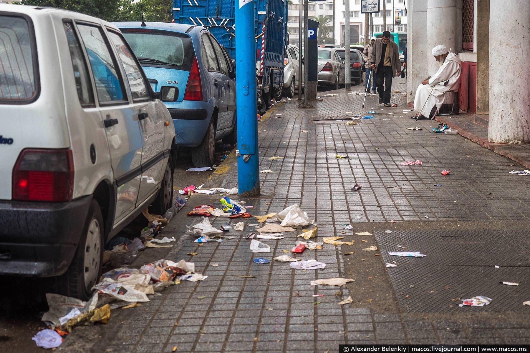 Фото: Тротуары Касабланки